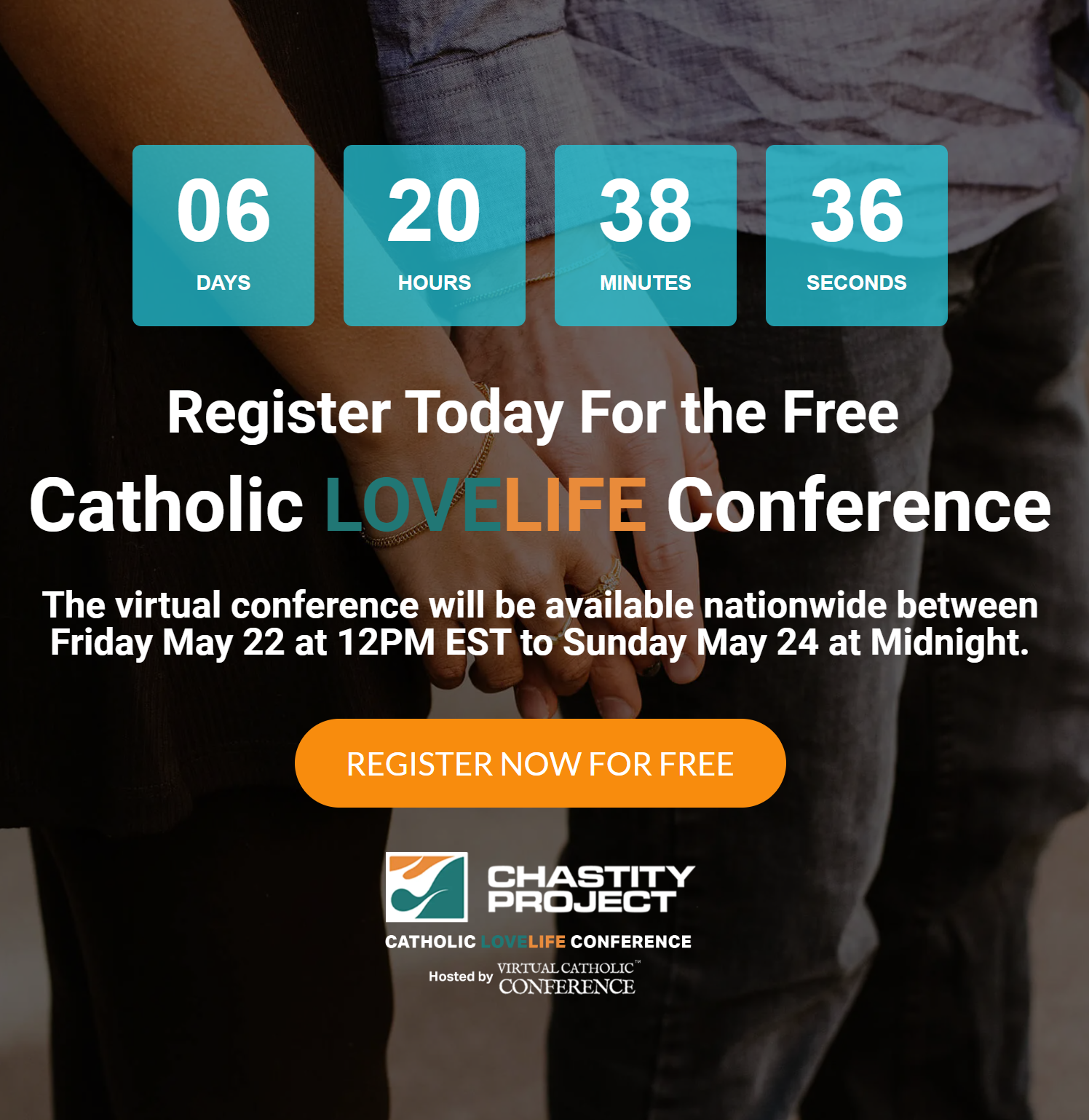 Catholic Love Life Conference May 22-24 (FREE)